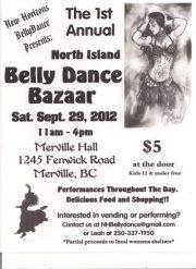 1st Annual North Island Bellydance Bazaar