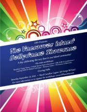 Vancouver Island Bellydance Showcase